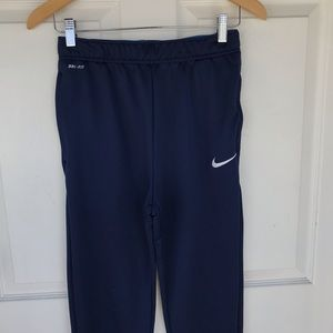 Nike did fit navy blue joggers